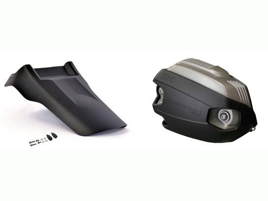 MachineArt MudSling® and Xheads R NINE T, Scrambler, Racer, Pure, Urban GS