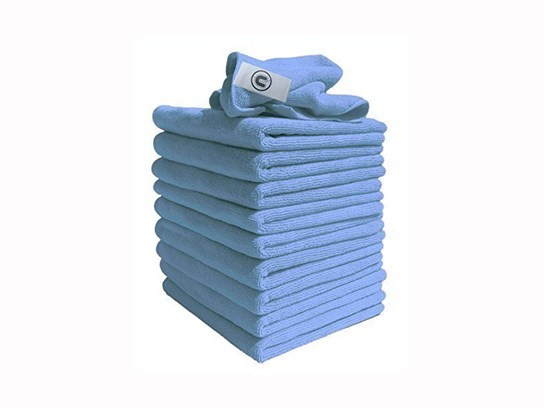 Microfibre Cleaning Cloth – Blue (x 10)