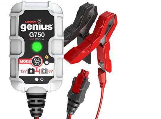 NOCO G750 Genius Battery Monitor for bikes up to 850cc