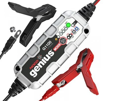 NOCO G1100 Genius Battery Monitorfor bikes 900 cc and over
