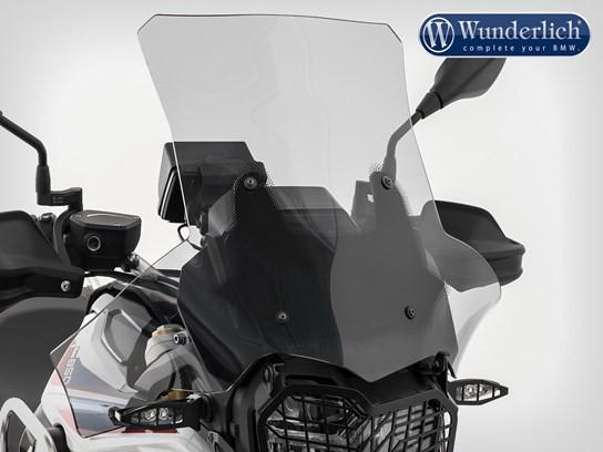 Wunderlich Xtreme screen F750GS/850GS tint (bikes with short original bracket)