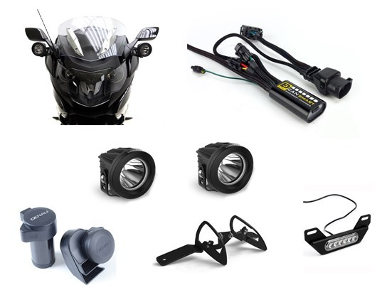 Denali Complete Gen 1 CanSmart Kit (lighting and horn) K1600GT/GTL (2018 on)