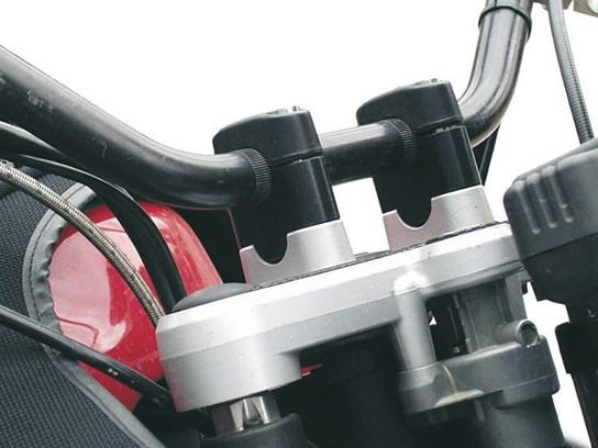 Wunderlich risers 35mm F650GS/ST/CS,R850GS/1100/1150GS black