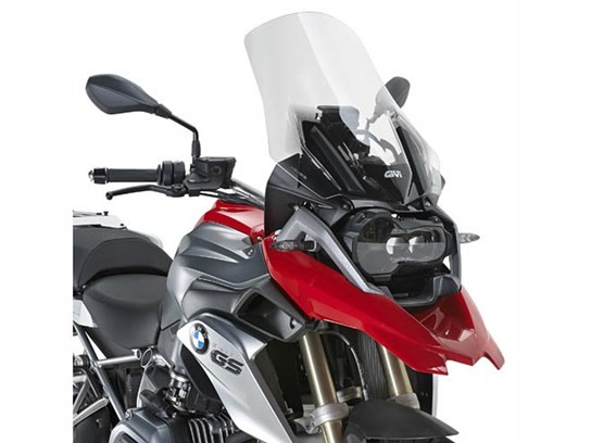 GiVi Highflow screen (with fittings) R1200GS LC (to 2015), R1200 Adventure LC (to 2015) clear