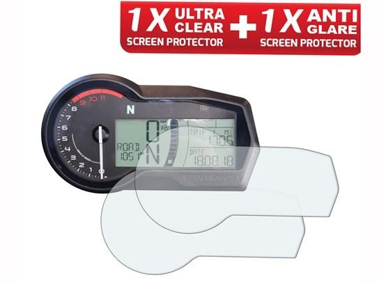 Speedo Angels F750GS Dashboard Screen Protector - Anti-Glare x 1 Ultra-clear x 1