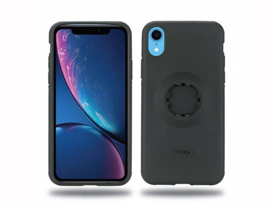 "MountCase 2 for iPhone XR with Ram 1"" ball mount and rain cover"