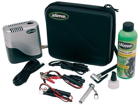Slime compact tyre pump Combi kit