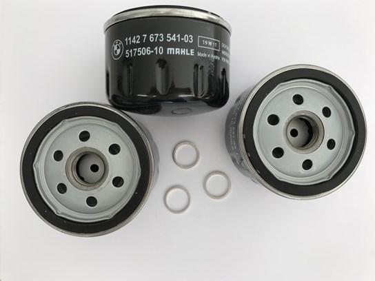 Genuine BMW oil filter  -  R1200GS/RT/ST/S/R,K1200R/S, K1600GT/GTL  (PACK OF 3)