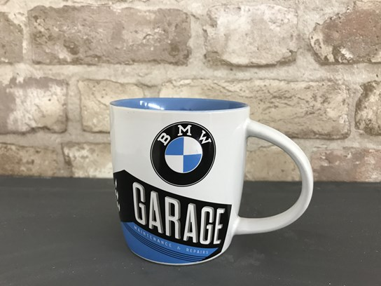 BMW Garage design ceramic cup