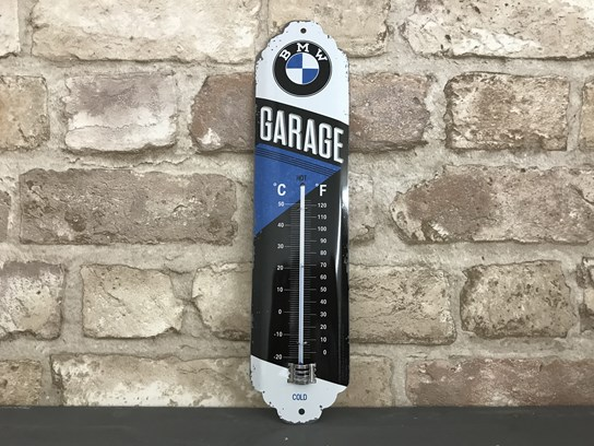 BMW Thermometer Garage Design