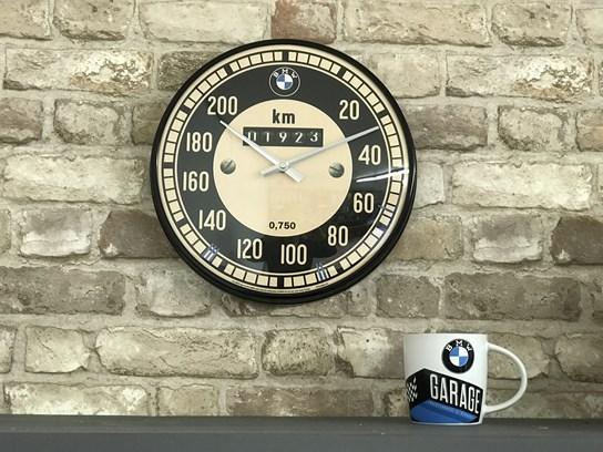 BMW Wall Clock Speedo Design (31cm diameter)