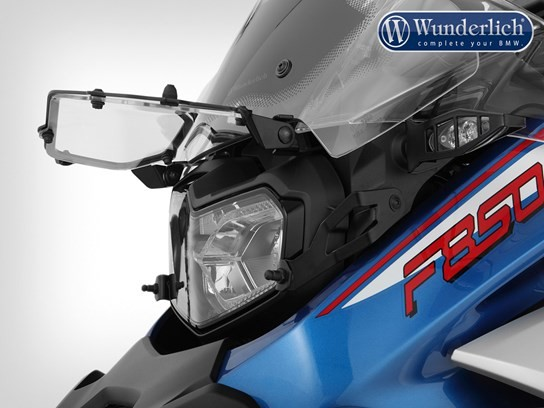 Wunderlich clear headlight grill (folding) F850 Adventure