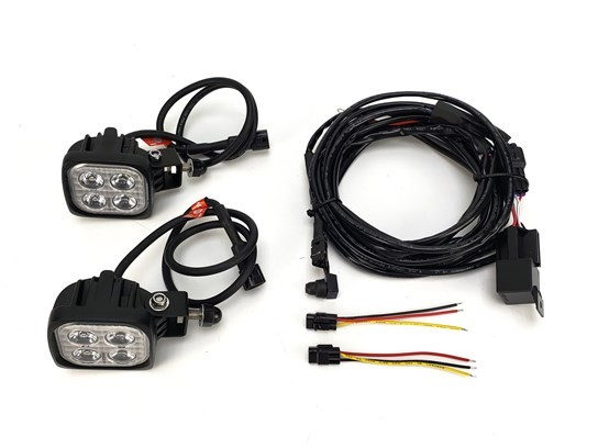 Denali S4 LED Light Kit (pair of lamps, wiring and switch included)