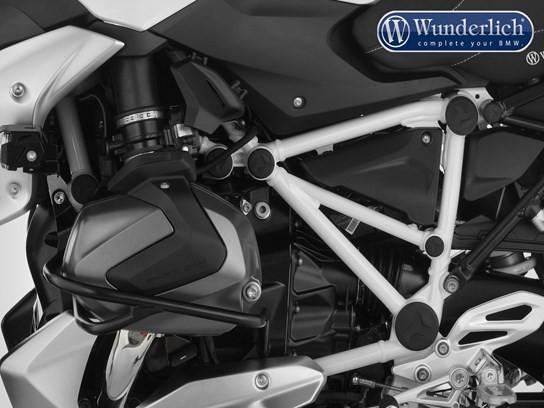 Wunderlich Dakar Black engine protectors BMW R1200R RS LC