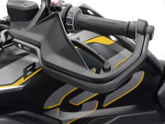 Evotech machined aluminium hand guard protectors R1200GS LC/Adventure LC, R1250GS/Adventure, F900R/XR,  S1000XR (including S1000XR 2020 on)