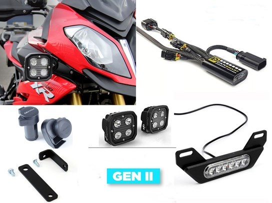 Denali Complete Gen II CanSmart Kit (lighting and horn) S1000XR (to 2019)