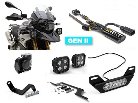 Denali Complete Gen II CanSmart Kit (lighting and horn) F750GS/850GS (not F850 Adventure)