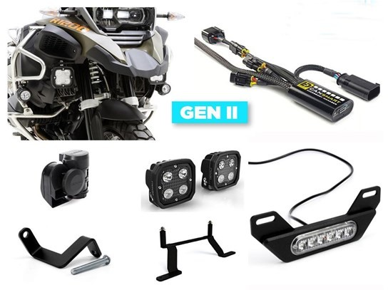 Denali Complete Gen II CanSmart Kit (lighting and horn) R1200Adventure LC (to 2018