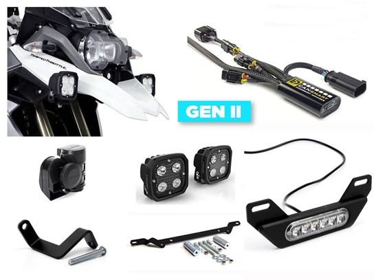Denali Complete Gen II CanSmart Kit (lighting and horn) R1200GS LC, R1250GS