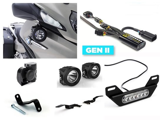 Denali Complete Gen II CanSmart Kit (lighting and horn) R1200RT LC (2014 to 2018), R1250RT