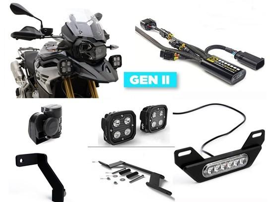 Denali Complete Gen II CanSmart Kit (D4 lighting and horn) R1250 Adventure (2019 on)