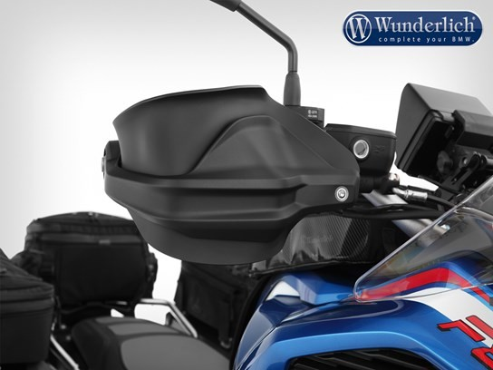 Wunderlich Hand guard extension black R1200GS LC 2013 on, 2017 on/1250GS and MORE models