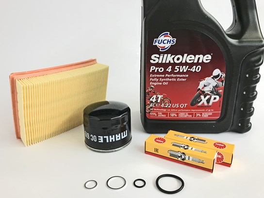 Service Kit (WITH OIL) R1200GS LC (to 2017), R1200GS Adv LC (to 2018), R1200RT LC (to 2018), R1200R LC/RS LC (to 2018)