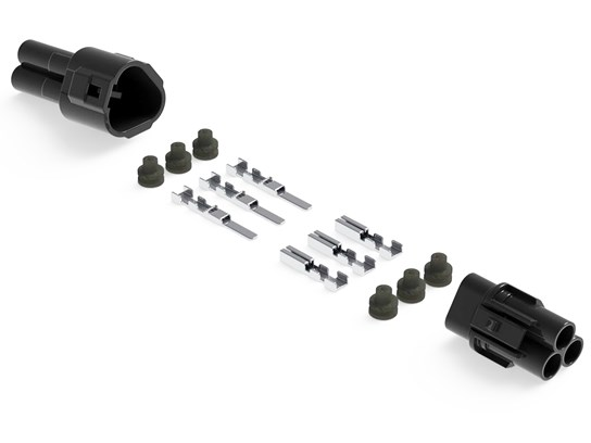 Denali Connector Set - MT Series (3-Pin)