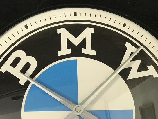 BMW Wall Clock (31cm diameter)