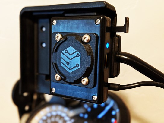Black Box Embedded Magnetic Phone Mount