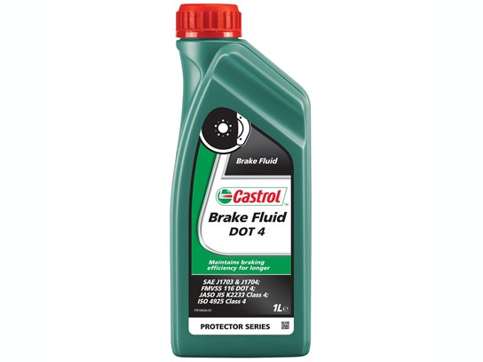Castrol DOT 4 brake fluid (1litre)